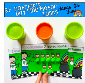St. Patrick's Day Themed Fine Motor Activities