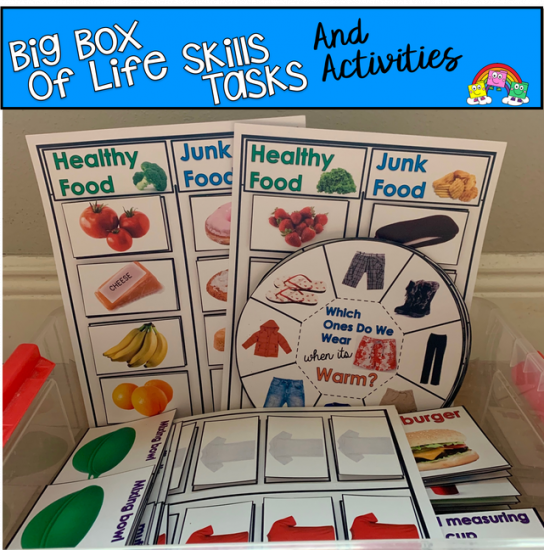 Big Box Of Life Skills Tasks