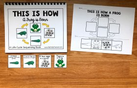Frog Life Cycle Sequencing Activities