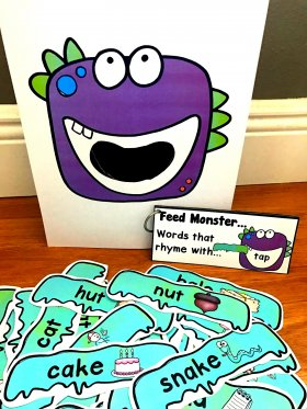 Sensory Bin Activities: Feed Monster Activities