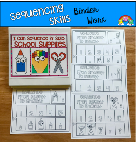 Sequencing Activities: Sequencing By Size