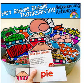 Hey Riddle Riddle Thanksgiving Activities