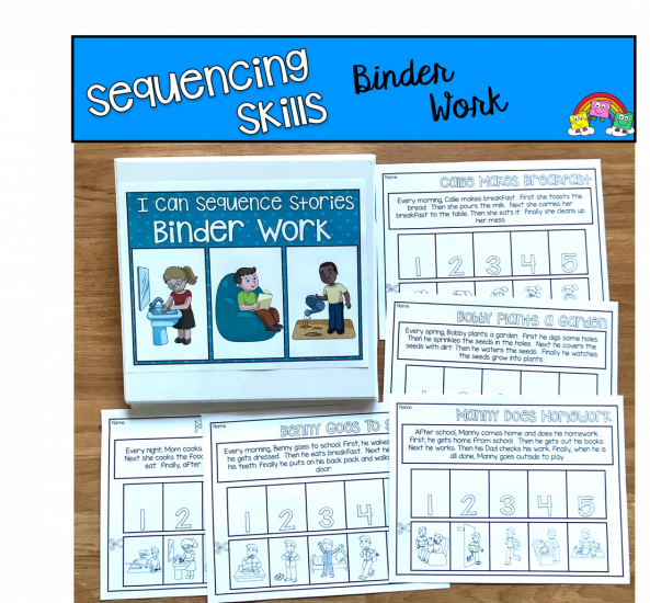 Sequencing Activities: Interactive Sorting Mats and Worksheets