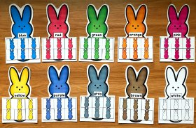 Bunny Colors Sorting Mats