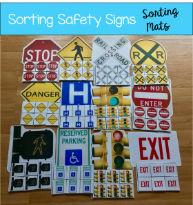 Safety Signs Sorting Mats