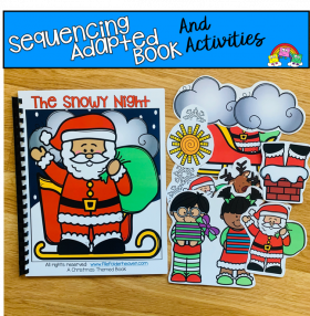 """The Very Snowy Night"" Adapted Book And Activities"