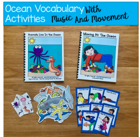 """Animals Live in the Ocean"" Adapted Song Books"