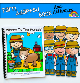 "Farm Adapted Book: ""Where Is The Horse?"""