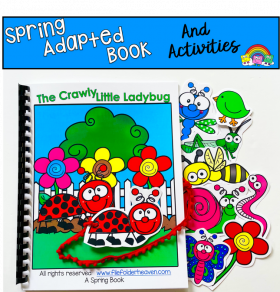 """The Crawly Little Ladybug"" Adapted Book And Activities"