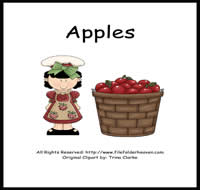 Apple Theme Preschool Activities