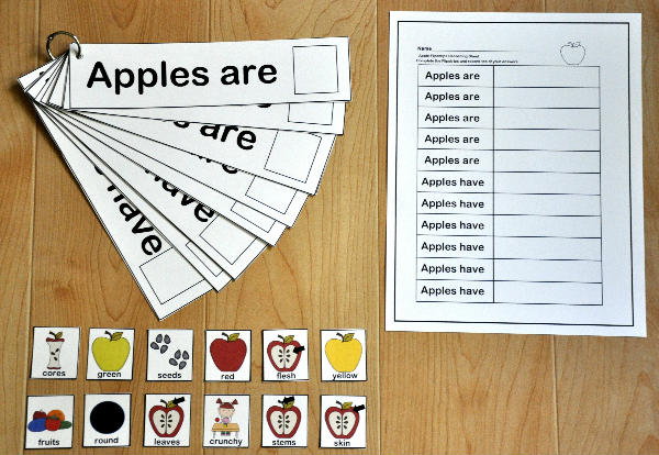 """Apples Are, Apples Have"" Flipstrips"