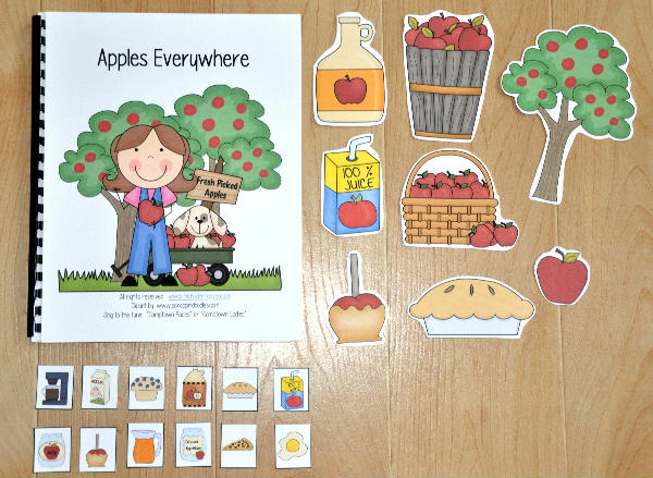 """Apples Everywhere"" Adapted Song Book"