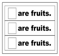 """Are Fruits"" Flip Strips"