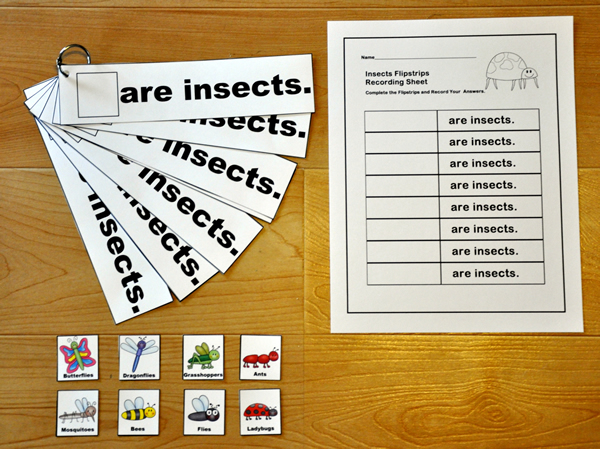 """Are Insects"" Flip Strips"
