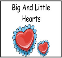 Heart Themed File Folder Games
