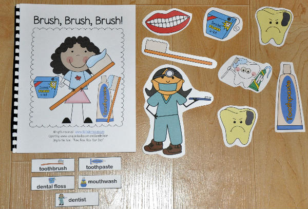 """Brush, Brush, Brush"" Adapted Song Book"