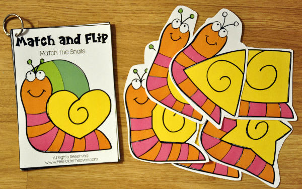 Bugs and Critters Match and Flip Books