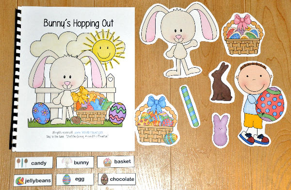"""Bunny's Hopping Out"" Adapted Song Book"