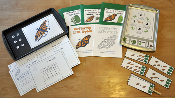 Butterfly Life Cycle New Adapted Book Unit