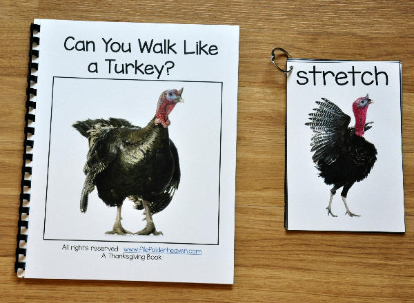 Turkey Themed Movement and Imitation Activity