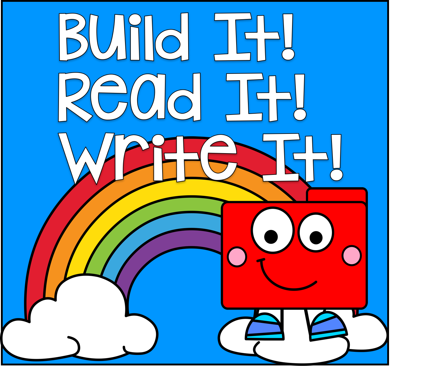 Build it! Read it! Write It!