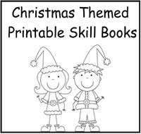 picture regarding Printable Christmas Books titled Xmas Themed Printable Capacity Textbooks - $2.00 : History Folder