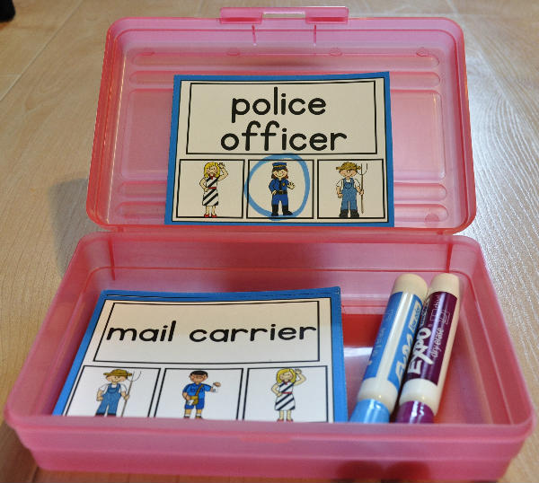 Community Helpers Task Cards