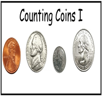 Counting Coins File Folder Games