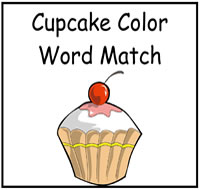 Cupcake Themed File Folder Games