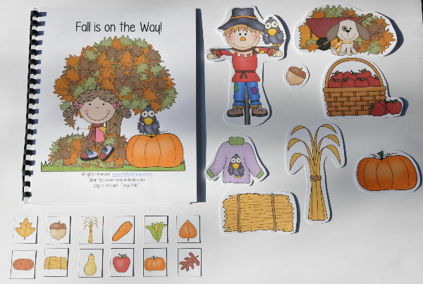 """Fall is on the Way!"" Adapted Song Book"