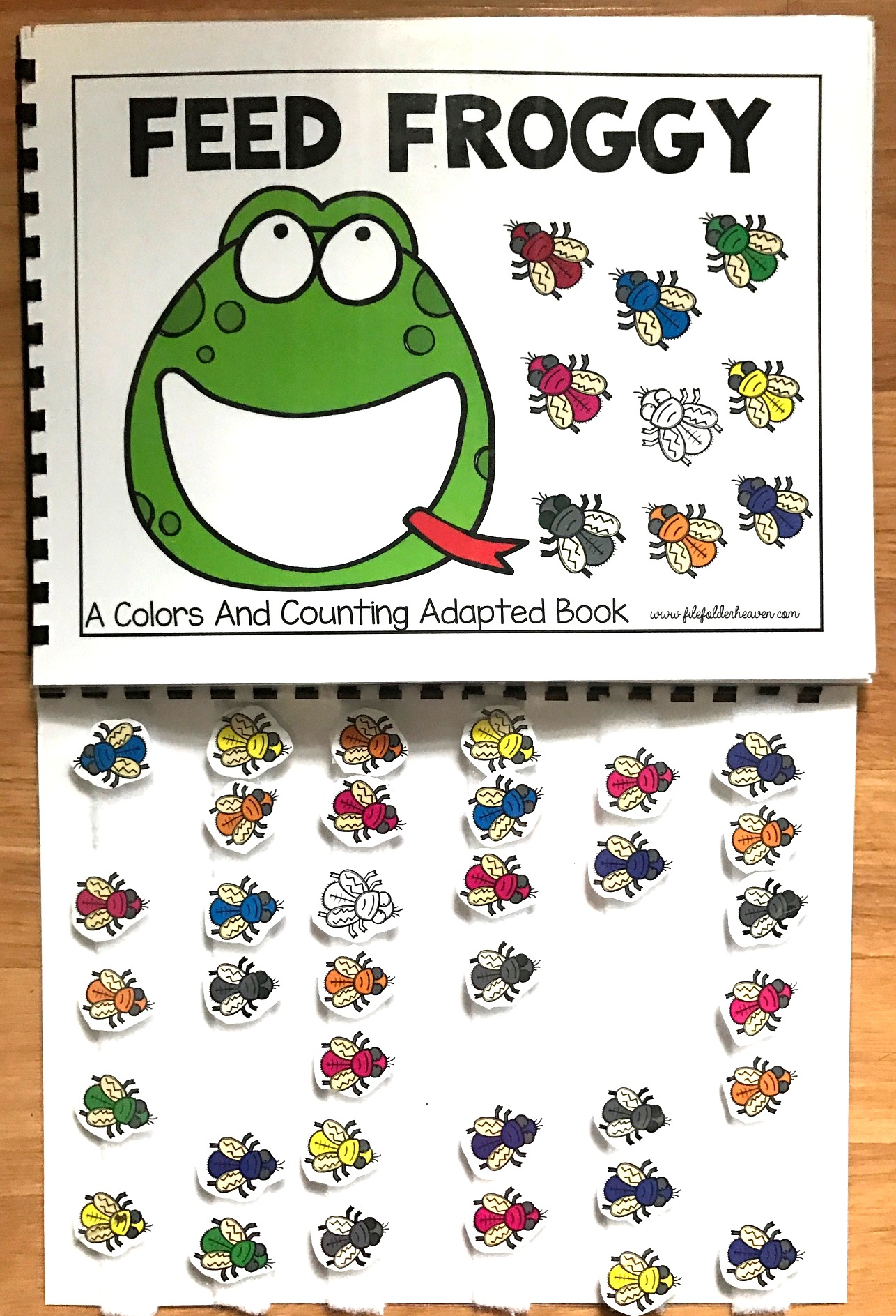 Feed Froggy: A Colors and Counting Adapted Book