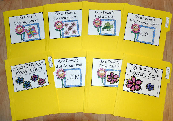 Spring File Folder Games Mini-Bundle