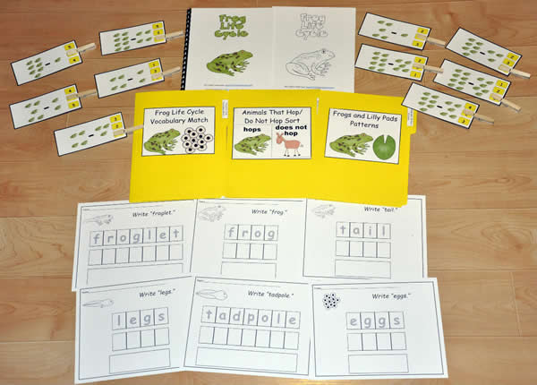 Frog Life Cycle New Adapted Book Unit