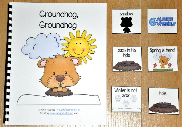 """Groundhog Groundhog"" Adapted Book"
