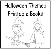 halloween free printable books