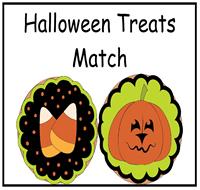 halloween treats file folder game - Halloween File Folder Games
