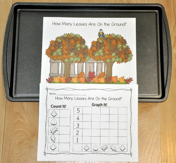 """How Many Leaves Are On the Ground?"" Intro to Graphing Activity"