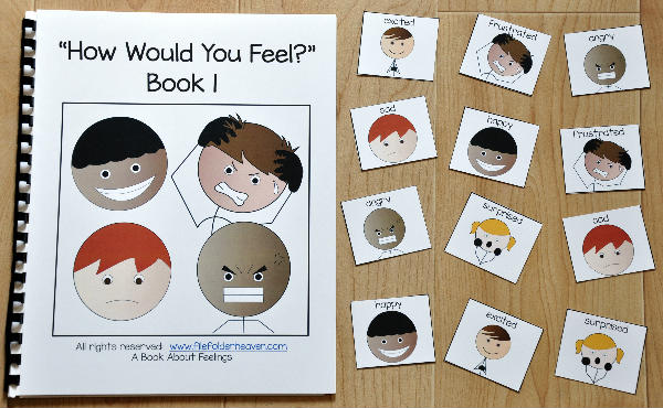 "Emotions Adapted Book--""How Would You Feel?"" 1"