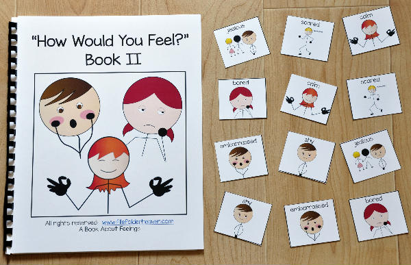 "Emotions Adapted Book--""How Would You Feel?"" 2"