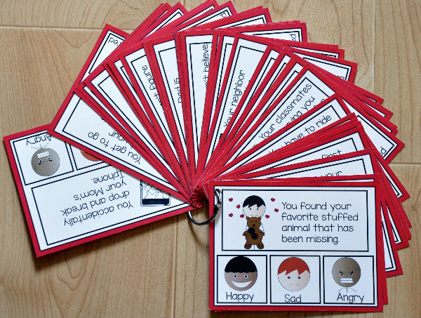 "Emotions Task Cards--""How Would You Feel?"""