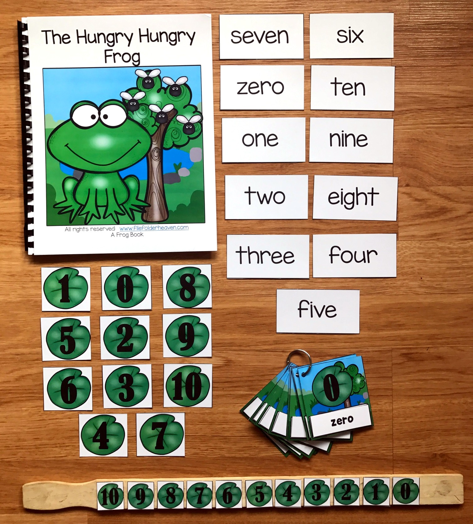 The Hungry Hungry Frog Adapted Book and Vocabulary Activities