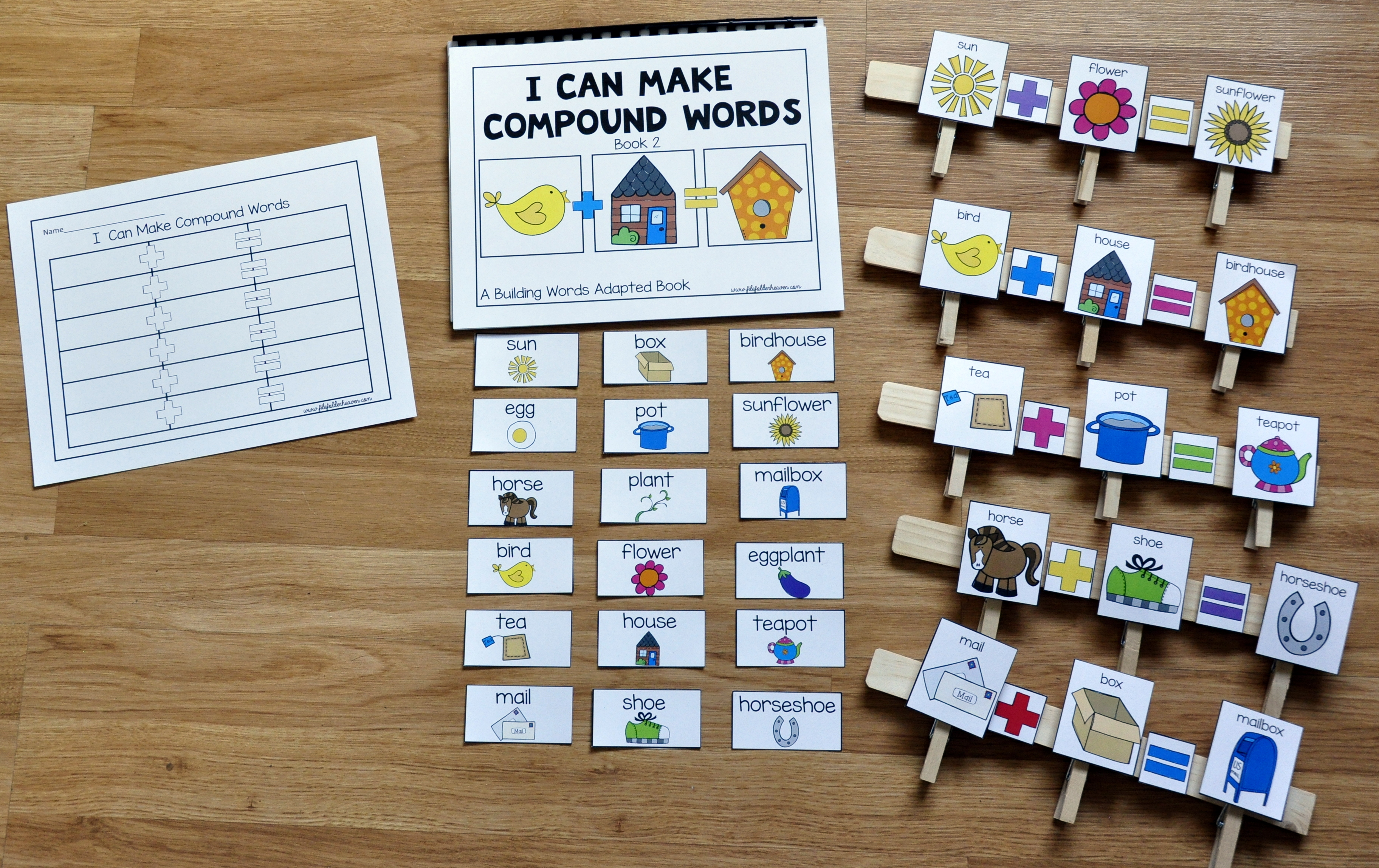 Compound Words Activities Mini-Bundle