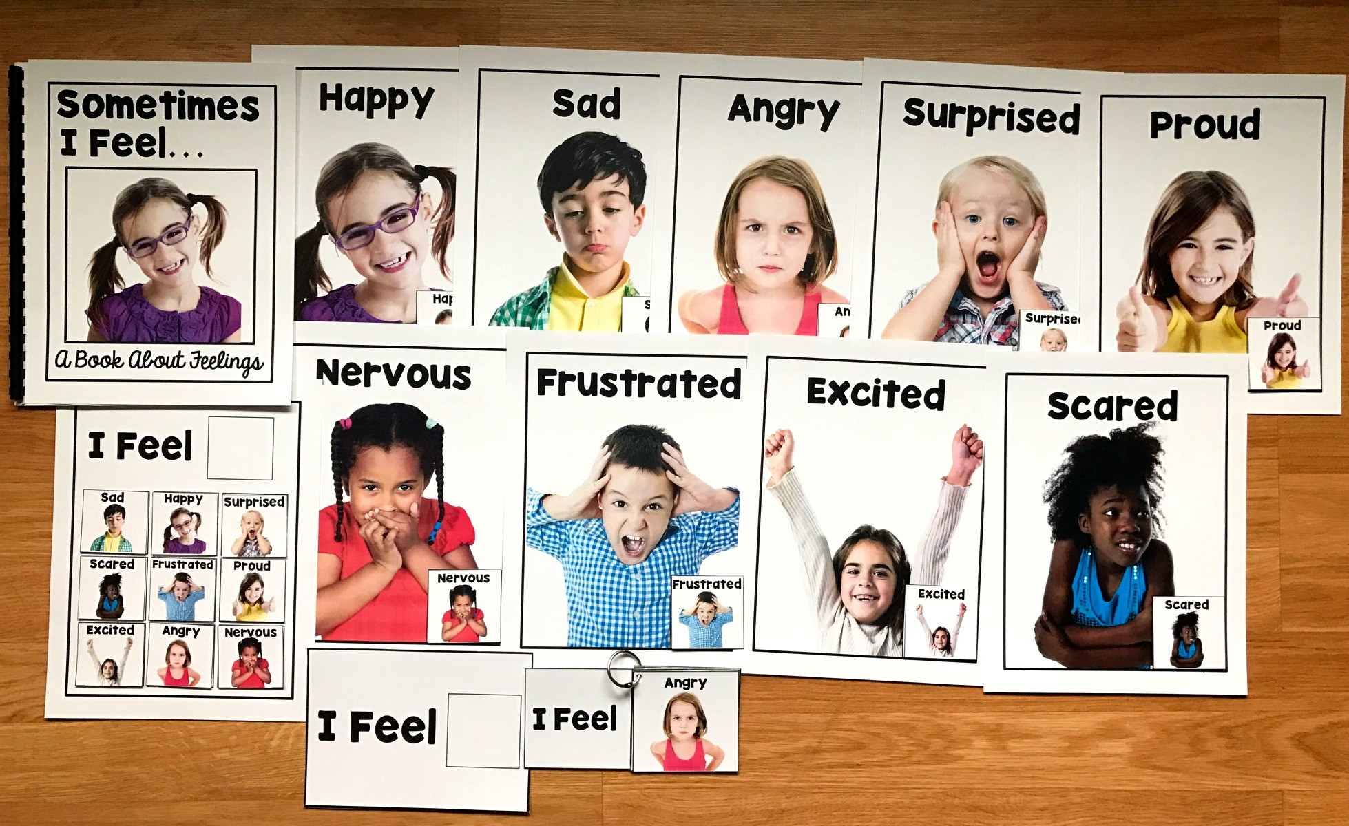Emotions Tool Kit (w/Real Photos)