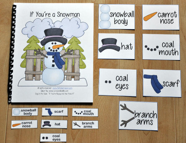 """If You're a Snowman and You Know It"" Adapted Song Book"