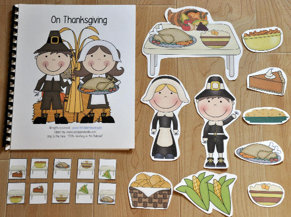 """We'll Be Eating on Thanksgiving"" Adapted Song Book"