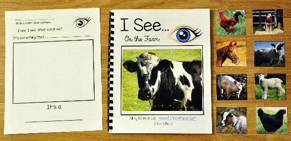 "I See ""At the Farm"" Adapted Book (w/Real Photos)"