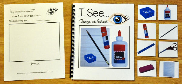 """I See"" Things At School Adapted Book (w/Real Photos)"