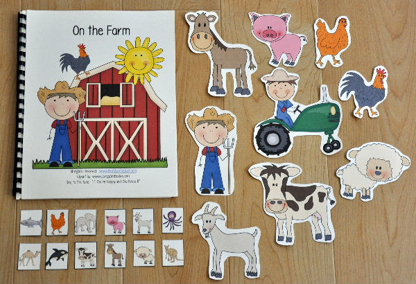 """On the Farm"" Adapted Song Book"