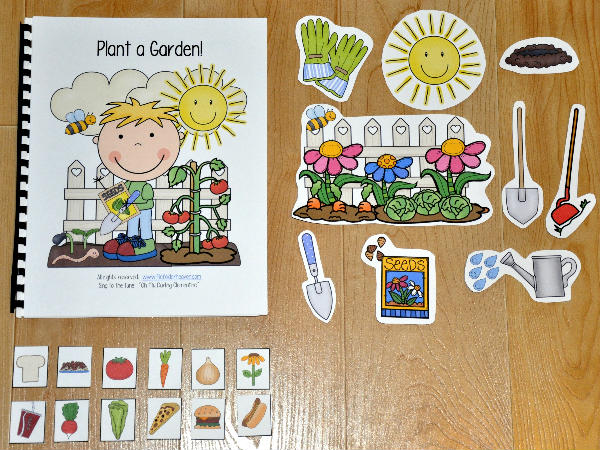 """Plant a Garden"" Adapted Song Book"