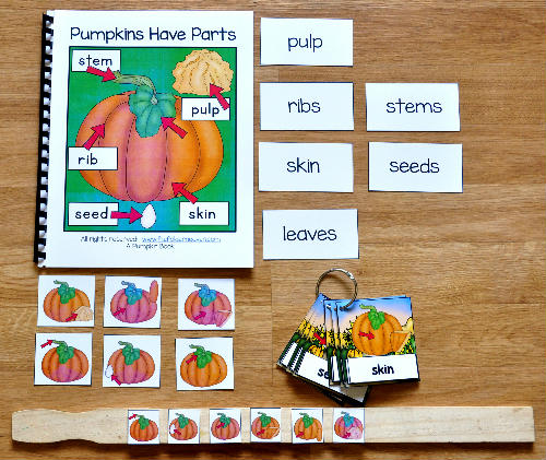 Pumpkin Parts Adapted Books